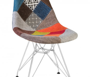 Стул Eames Chrome LMZL-623 Patchwork